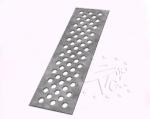 Решетка из нержавеющей стали для водостока полимер-песчаного